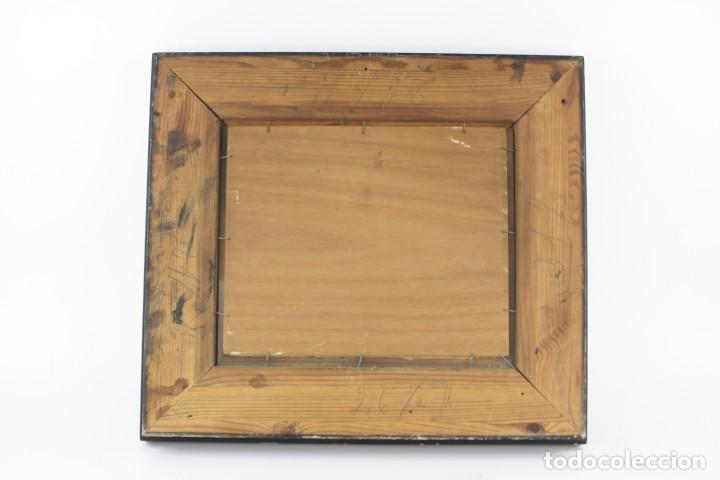 Arte: Joaquin Asensio, paisaje, pintura al óleo sobre madera, firmado, con marco. 26x22cm - Foto 4 - 221653348