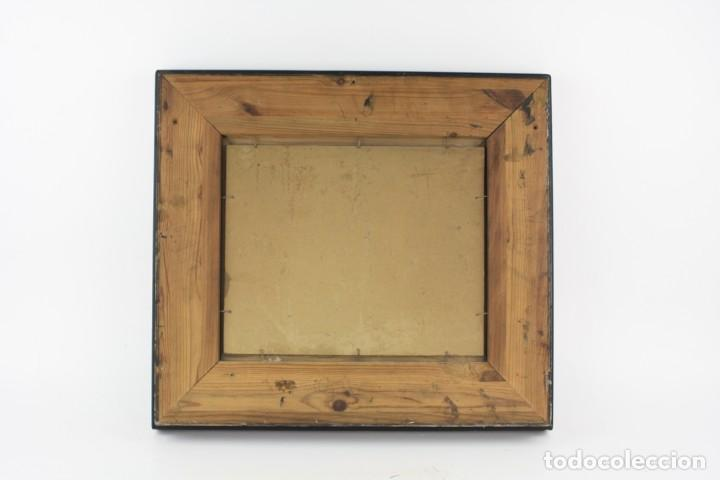 Arte: Joaquin Asensio, paisaje con casa, pintura al óleo sobre madera, firmado, con marco. 26,5x22,5cm - Foto 4 - 221653640
