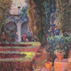 Arte: JORDI FREIXAS CORTÉS (1917-1984) - PATIO - ÓLEO SOBRE LIENZO. Lote 221850263