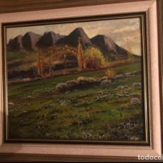 Arte: OLEO SOBRE LIENZO DE A. TORRECHANTI DE LOS AÑOS 90 80X50 CM, PAISAJE. Lote 221884451