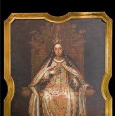 Arte: VIRGEN DE LA MERCED 210X150. Lote 221945011