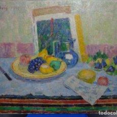Arte: EXCELENTE ÓLEO DE PAU ROIG CISA (PREMIA DE MAR 1879-BCN 1955).GALERIA SYRA 1944.. Lote 221978087