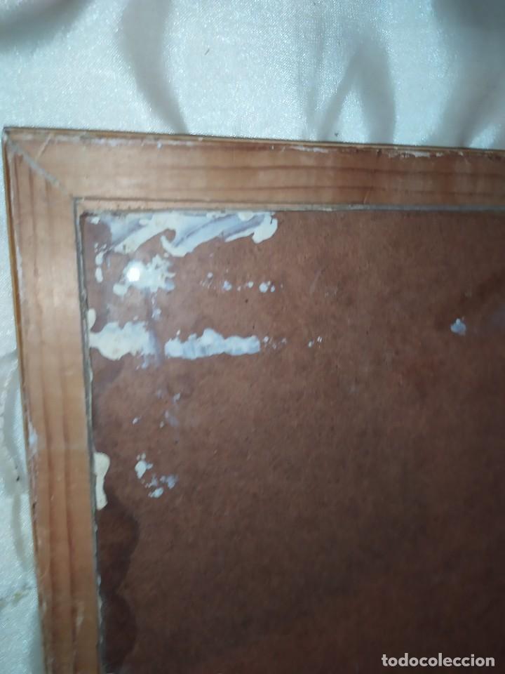 Arte: OLEO SOBRE TABLA PAISAJE PUEBLO CASAS FIRMA ILEGIBLE SE AGRADECE INFORMACIÓN - Foto 11 - 221980705