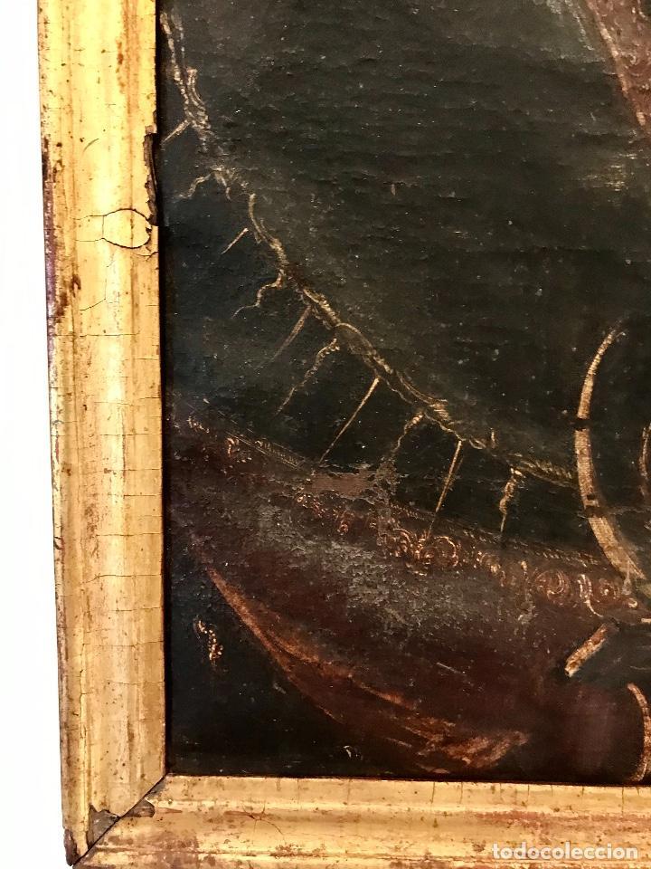 Arte: óleo del Siglo XVIII - Virgen con niño - 71x52x3cm - Foto 4 - 222095861