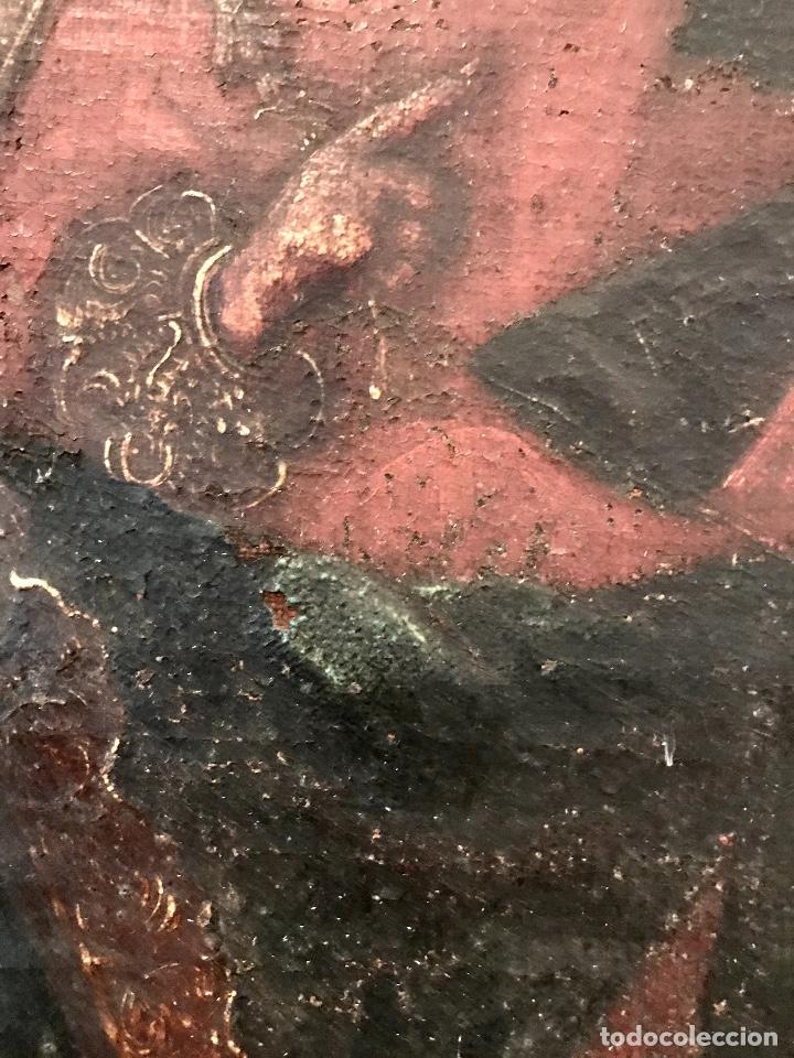 Arte: óleo del Siglo XVIII - Virgen con niño - 71x52x3cm - Foto 5 - 222095861