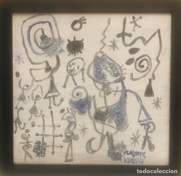 Arte: dibujo miro homenaje (2) - Foto 2 - 207651133