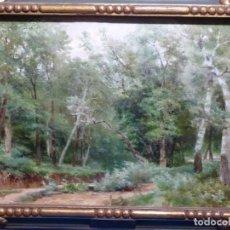 Arte: ÓLEO SOBRE TELA.NICOLAS ALFARO BRIEVA(TENERIFE 1828-BARCELONA 1905).LA PINACOTECA.. Lote 222281272
