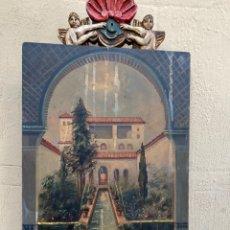 Arte: ÓLEO SOBRE TABLA SIGLO XIX.1810 .FIRMADO C.CABRECIZO . ORIGINAL DE LA ÉPOCA .VER PERFIL . HAY OTROS. Lote 222307233
