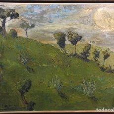 """Arte: """"PAISAJE"""" ÓLEO FIRMADO TITO CITTADINI 1925. Lote 222316508"""