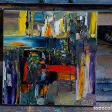Arte: COMPOSITION ABSTRAITE. Lote 222316652