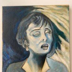 Arte: RETRATO AL OLEO SOBRE LIENZO , OBRA A DOCUMENTAR , 1930 APROX.. Lote 222377330