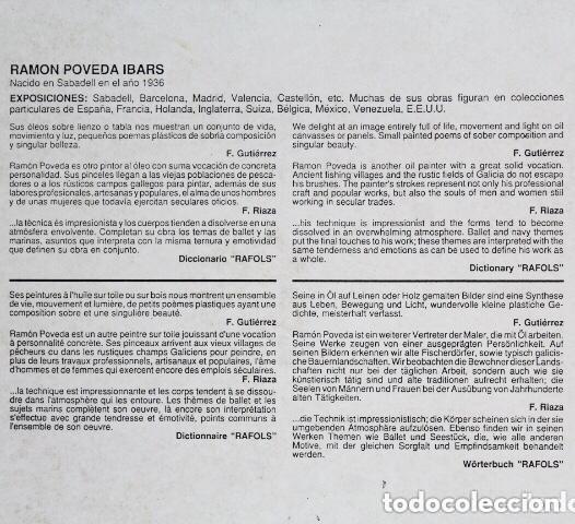 Arte: Cuadro Oleo Tabla RAMON POVEDA Mujeres Trabajando muy bien Enmarcado - Foto 7 - 222459230