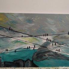 """Arte: PINTURA AL ÓLEO """"LA SOBERANÍA"""". Lote 222545757"""
