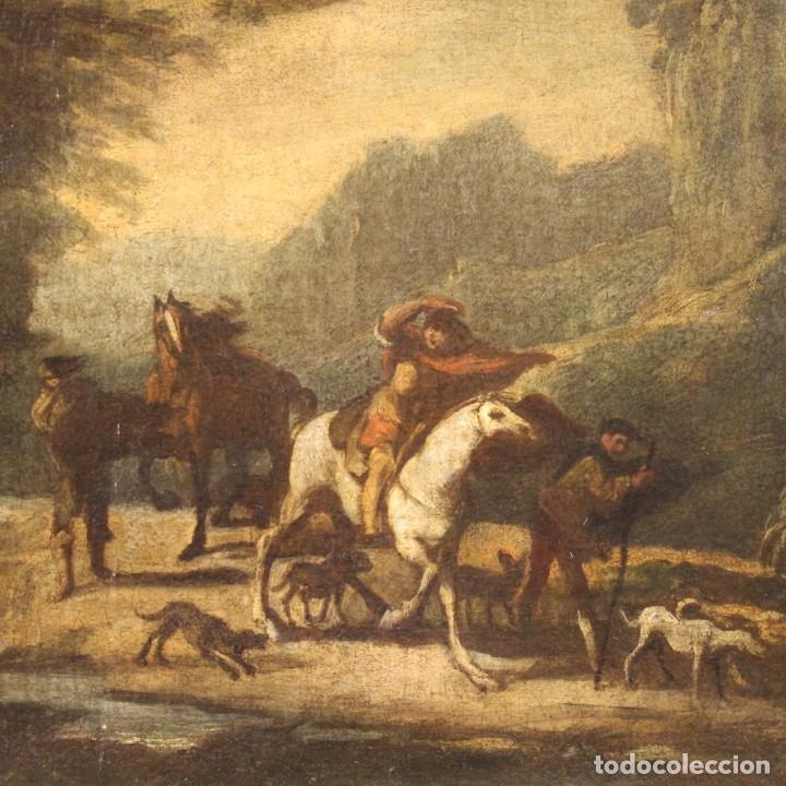 Arte: Pintura italiana antigua de paisaje del siglo XVIII - Foto 3 - 222664198