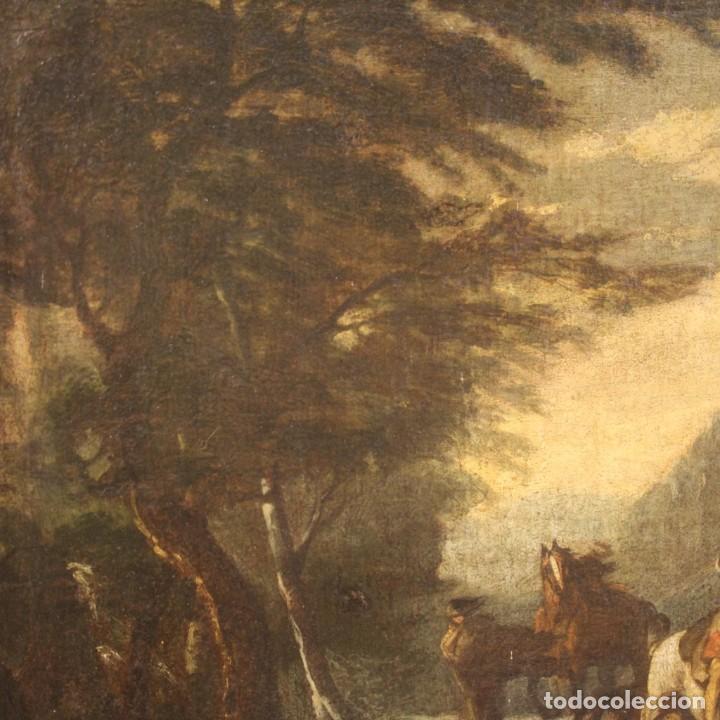 Arte: Pintura italiana antigua de paisaje del siglo XVIII - Foto 4 - 222664198