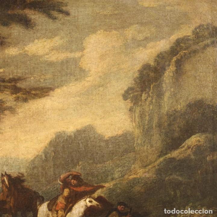Arte: Pintura italiana antigua de paisaje del siglo XVIII - Foto 5 - 222664198