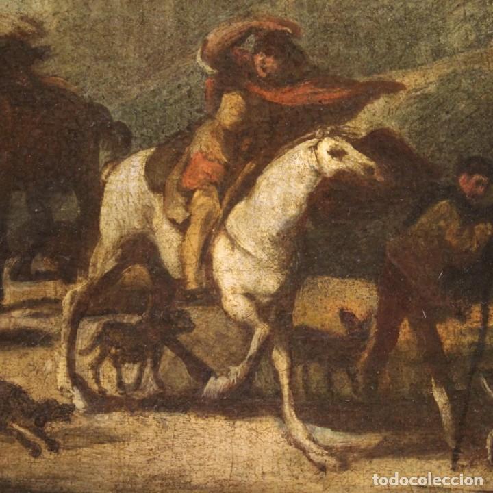 Arte: Pintura italiana antigua de paisaje del siglo XVIII - Foto 6 - 222664198