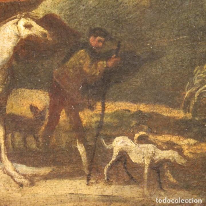 Arte: Pintura italiana antigua de paisaje del siglo XVIII - Foto 7 - 222664198