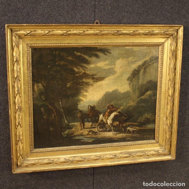 Arte: Pintura italiana antigua de paisaje del siglo XVIII - Foto 9 - 222664198