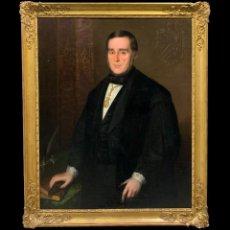 Arte: ANTONIO MARÍA ESQUIVEL (1806-1857) Y TALLER - PEDRO JOSÉ PIDAL Y CARNIADO, I MARQUÉS DE PIDAL,. Lote 222732295
