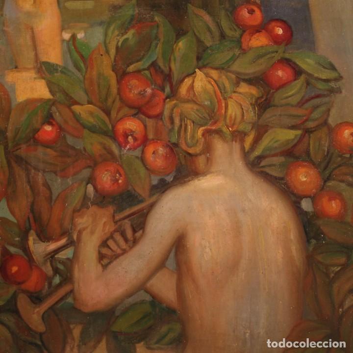 Arte: Pintura italiana firmada que representa desnudos - Foto 9 - 222745290