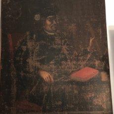 Arte: ÓLEO DEL SIGLO XVIII - NOBLEZA MALLORQUINA - MAL ESTADO. Lote 222755782