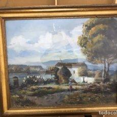 Arte: PINTURA AL ÓLEO SOBRE LIENZO FIRMADA POR SANTIAGO DE SOTO VILLENA. Lote 222785043