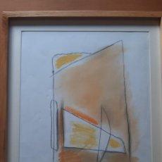 Arte: ALBERT RÀFOLS CASAMADA - TÉCNICA MIXTA SOBRE PAPEL - FIRMADA Y ENMARCADA. Lote 222807911