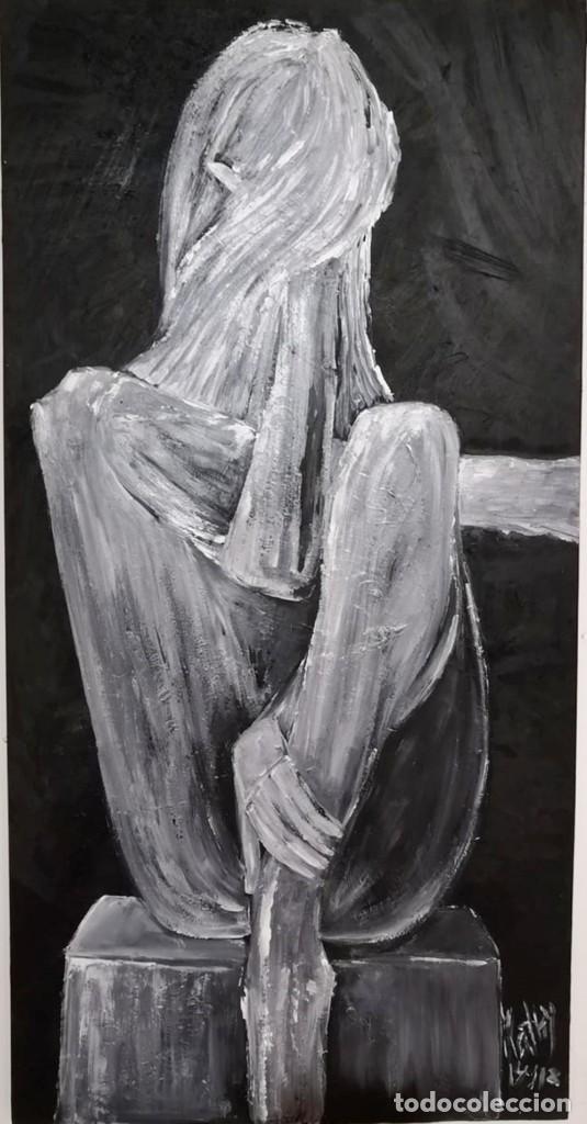 NO MIRES (Arte - Pintura Directa del Autor)