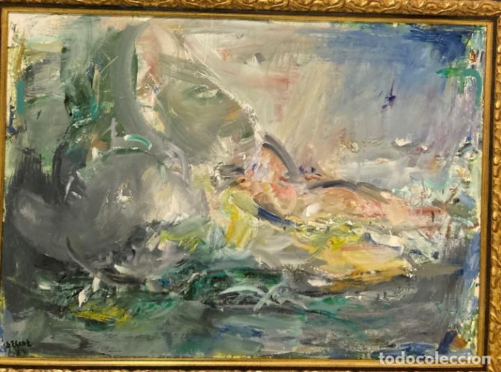 Arte: Bodegón por Ramón Lorda Vidal (Deside) (Nador, Marruecos 1931- Marín, Pontevedra 2016) - Foto 8 - 222838337