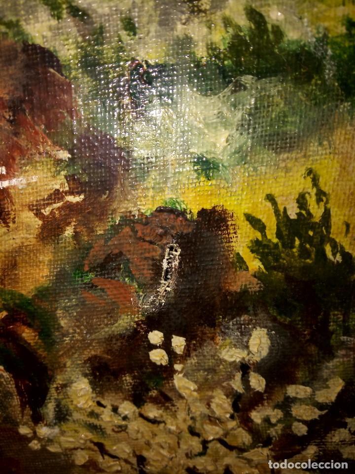 Arte: Óleo sobre lienzo firmado J.Prades - Foto 4 - 222844495