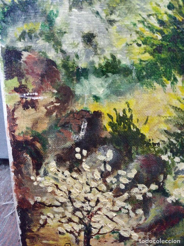 Arte: Óleo sobre lienzo firmado J.Prades - Foto 6 - 222844495
