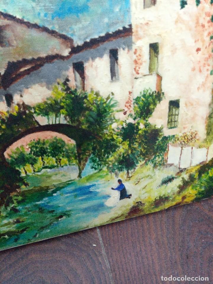 Arte: Óleo sobre lienzo firmado J.Prades - Foto 9 - 222844495