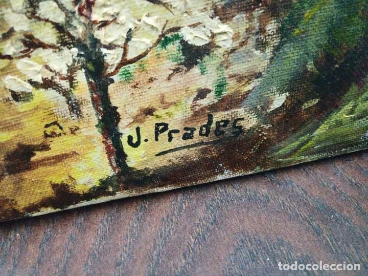 Arte: Óleo sobre lienzo firmado J.Prades - Foto 12 - 222844495
