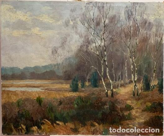 HENRI KEROELS. ÓLEO SOBRE LIENZO. (Arte - Pintura - Pintura al Óleo Moderna siglo XIX)