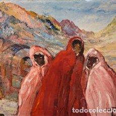 Arte: ESTELLE JUSTE. 1894-1962. LES DERACINES.. Lote 222922107