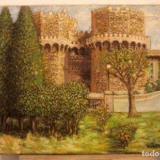 Arte: OLEO SOBRE LIENZO DEL PINTOR VALENCIANO VICENTE TAMARIT. FIRMADO.65X54CM. Lote 223243952
