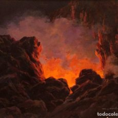 Arte: MIGUEL MARTINEZ VERCHILI (CASTELLÓN, 1898 - VALENCIA, 1989) ATARDECER. ENMARCADO 91X78CM. Lote 223275831