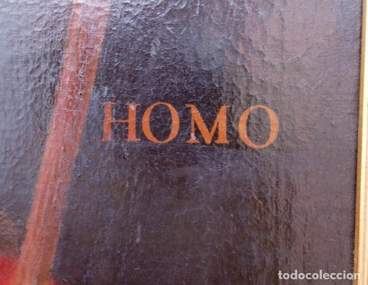 Arte: ÓLEO S/LIENZO -ECCE HOMO- S. XVII. DIM.- 103,5X82 CMS.MUY BIEN ENMARCADO. - Foto 7 - 223685695