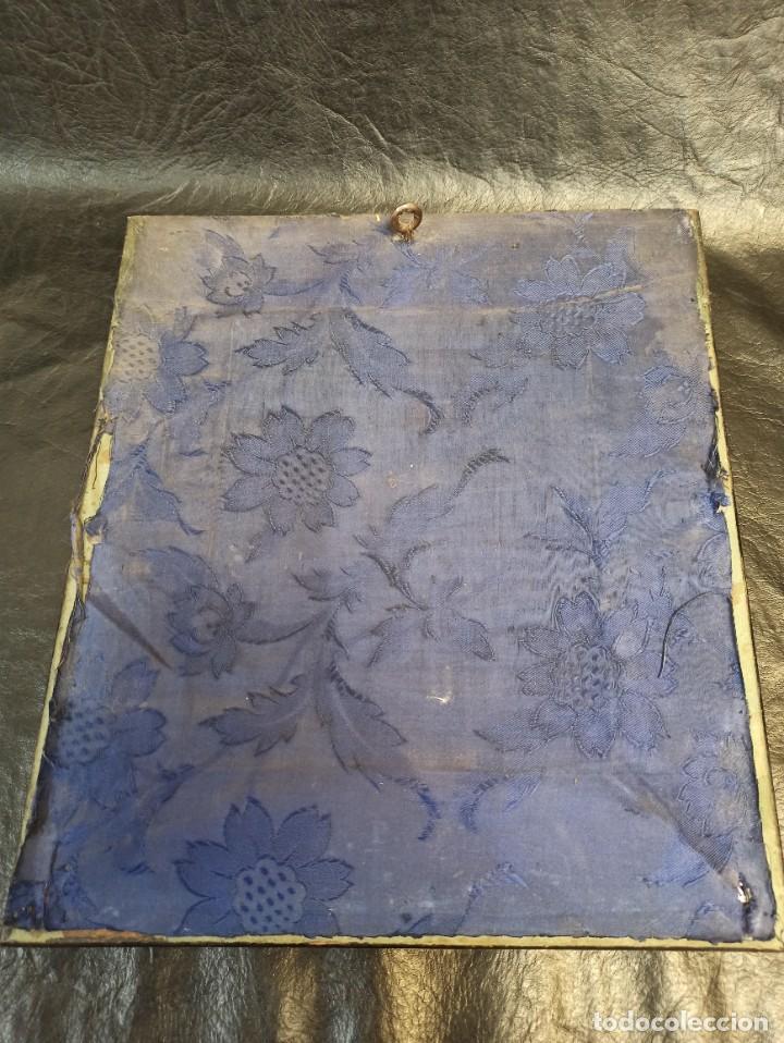 Arte: Pintura superpuesta. Alegoría de la parábola de las 10 vírgenes.Siglo XIX. Of. - Foto 6 - 223915327