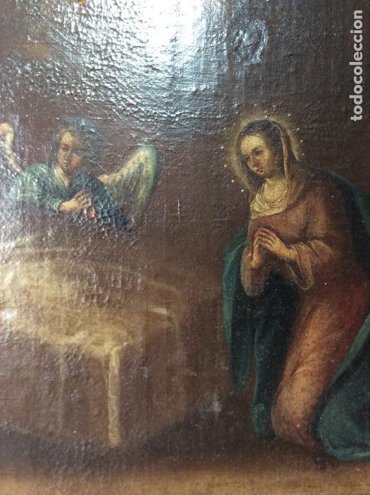 Arte: Óleo Religioso siglo XVIII, representando la Lamentación sobre Cristo - Foto 4 - 223929900