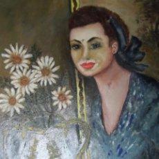 Arte: ÓLEO DE 1972 SOBRE LIENZO (POSIBLE GARCIA )CON MARCO MEDIDAS 83 X 64 CM EXT, 69 X 48 INT. Lote 223950345