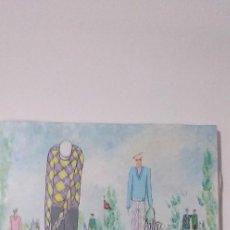 Art: PACHI GALLARDO (TOLOX, MALAGA 1943), EXTRAORDINARIA PINTURA ORIGINAL DE ESTE ARTISTA MALAGUEÑO.. Lote 224085592
