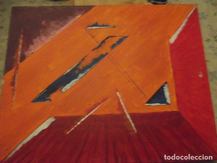 PINTURA MODERNA SOBRE LIENZO DE 51 X 41 X 4 CM (Arte - Pintura - Pintura al Óleo Moderna sin fecha definida)