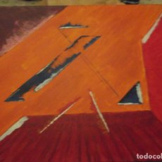 Arte: PINTURA MODERNA SOBRE LIENZO DE 51 X 41 X 4 CM. Lote 224270606
