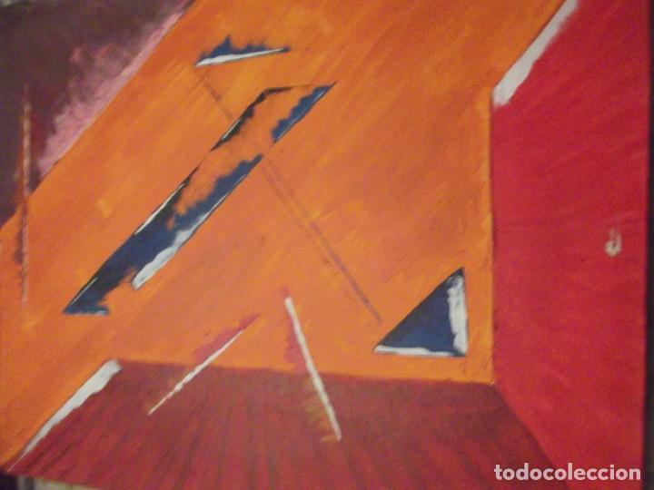 Arte: Pintura moderna sobre lienzo de 51 X 41 X 4 cm - Foto 2 - 224270606
