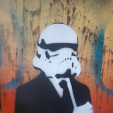 Arte: CHRIS CLEVELAND. STAR WARS. STORMTROOPER. Lote 224333958