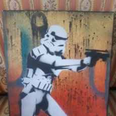 Arte: CHRIS CLEVELAND. STAR WARS. STORMTROOPER. Lote 224334125