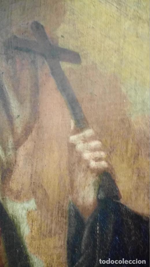 Arte: ÓLEO S/LIENZO -FRAY DIEGO DE ALCALÁ-, S. XVII. ATRIBUÍDO A MATÍAS ARTEAGA -O A SU TALLER-112.5X84.5 - Foto 11 - 224385347