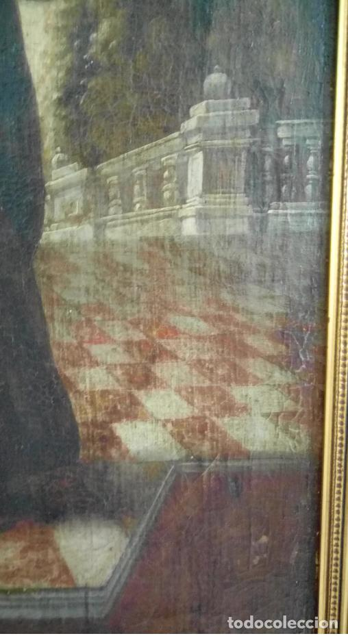 Arte: ÓLEO S/LIENZO -FRAY DIEGO DE ALCALÁ-, S. XVII. ATRIBUÍDO A MATÍAS ARTEAGA -O A SU TALLER-112.5X84.5 - Foto 13 - 224385347